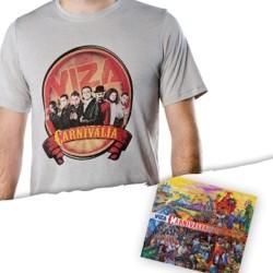 Carnivalia Shirt & CD Package