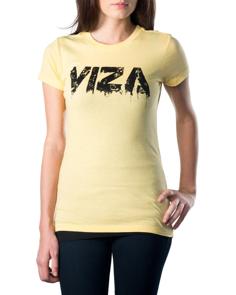 Yellow Girls Ink Shirt