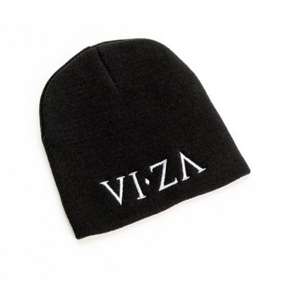VIZA Black Beanie