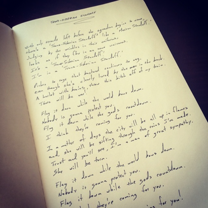Lyric Book - Personally Written by K'noup