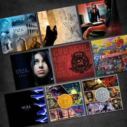 Nine Album Package