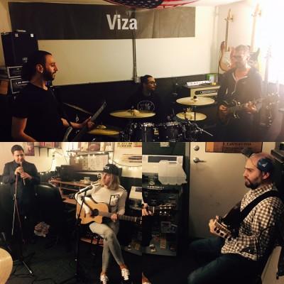 VIZA rehearsal